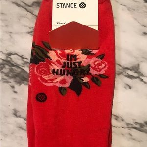 I'm Just Hungry Stance Socks